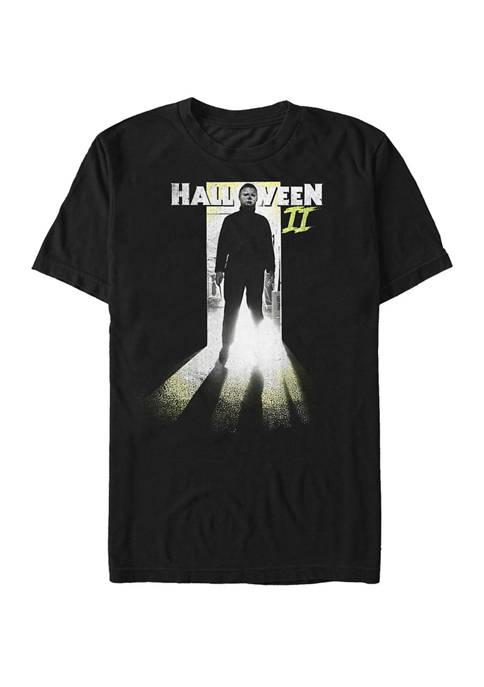 Michael Myers Through The Door Short Sleeve T-Shirt