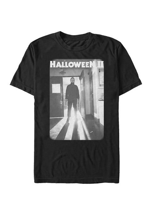 Big & Tall Halloween Faded Image Halloween II Pose Graphic Short Sleeve T-Shirt