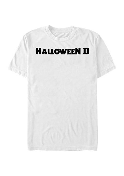 Halloween 2 Halloween II Logo Graphic T-Shirt