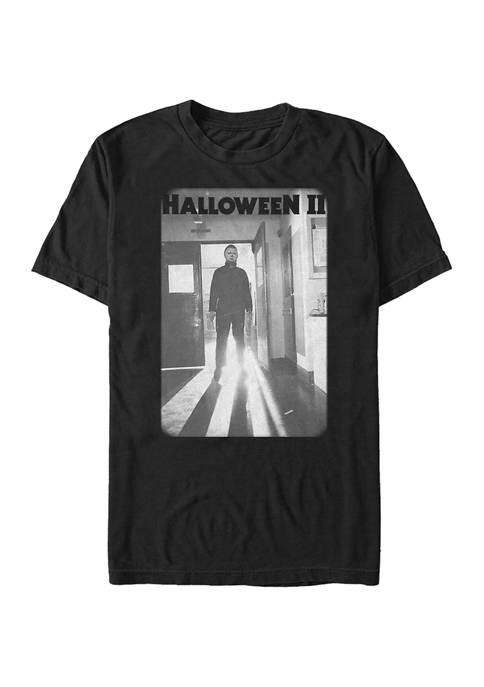 Faded Image Halloween II Pose Graphic T-Shirt