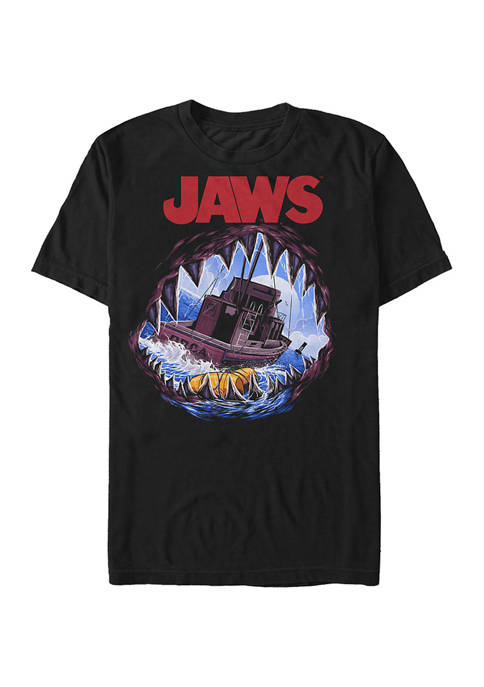 Big & Tall Jaws Deep Sea Terror Graphic