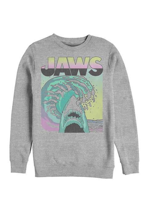 Jaws 80s Graphic Crew Fleece Sweatshirt