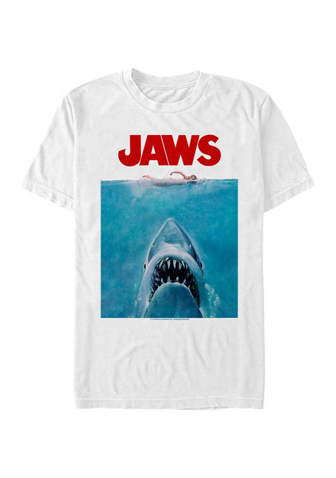 Jaws Oversize Poster Graphic T-Shirt
