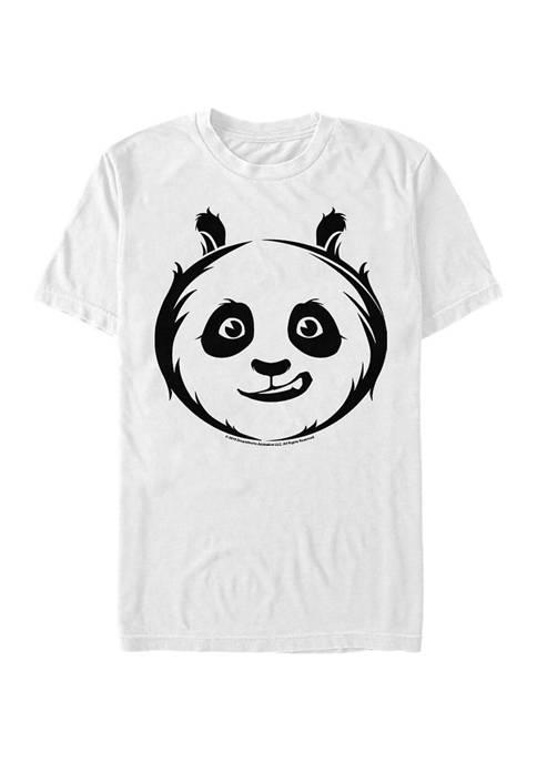 Kung Fu Panda Po Face Icon Graphic T-Shirt