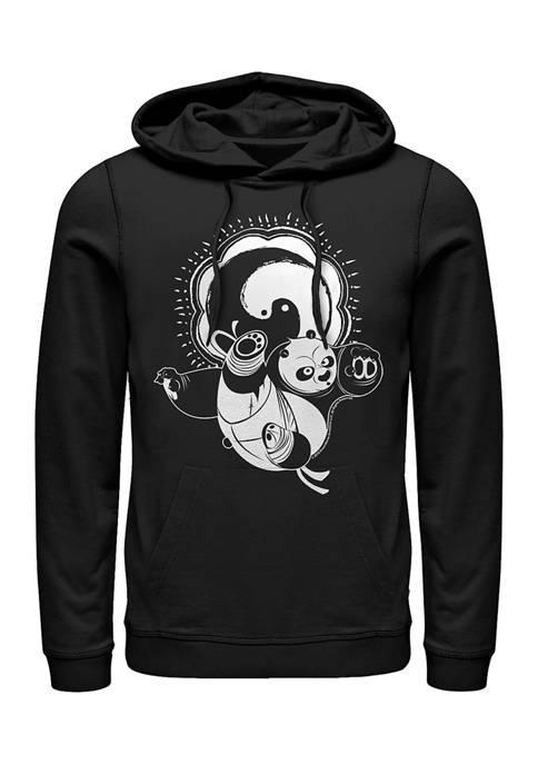 Kung Fu Panda Yin Yang Graphic Hoodie