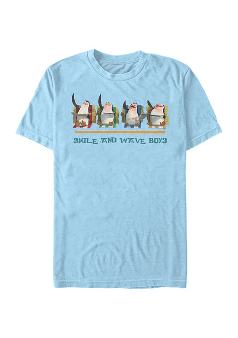 Mad 1 Smile and Wave Graphic T-Shirt