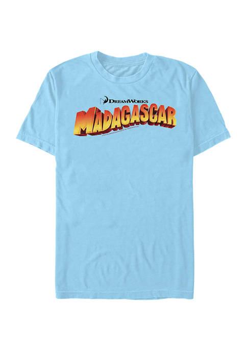 Madagascar Mad 1 Logo Graphic T-Shirt