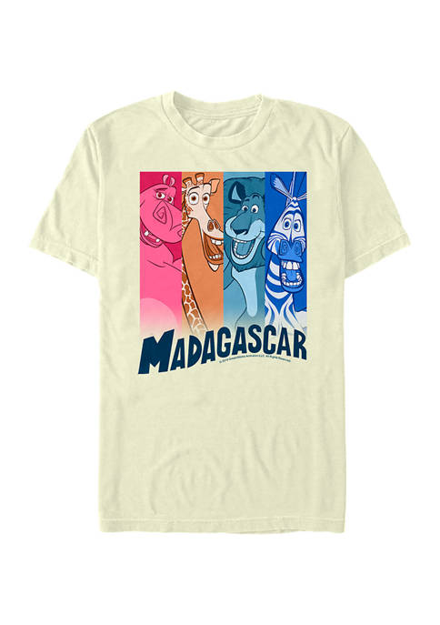Madagascar Colorbars Graphic T-Shirt