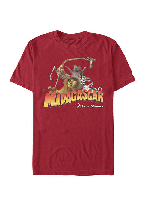 Mad 1 Logo Group Graphic T-Shirt