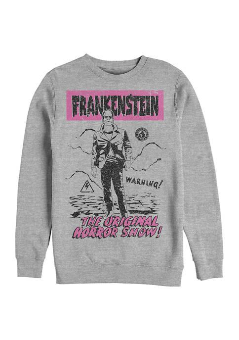Old Franky Graphic Crew Fleece Sweatshirt