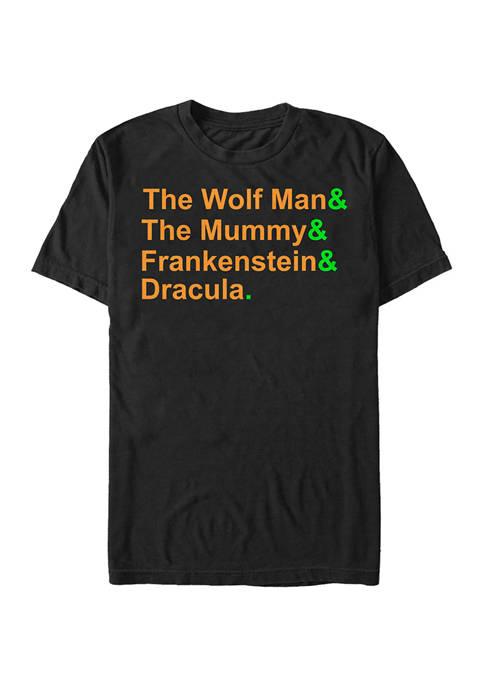 Monster List Graphic T-Shirt