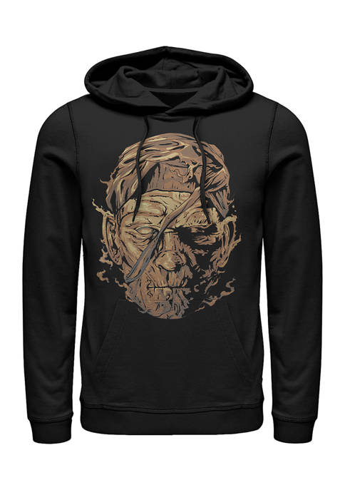 Mummy Face Graphic Hoodie