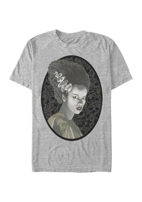 Universal Monsters Bride Illustration Graphic T-Shirt