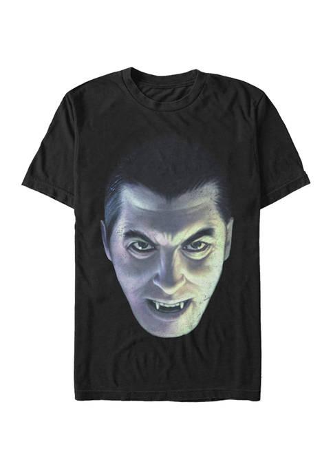 Big & Tall Dracula Big Face Short Sleeve Graphic T-Shirt