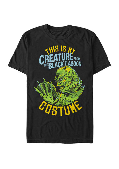 Universal Monsters Big Tall Creature From The Black Lagoon Halloween Costume Short Sleeve Graphic T Shirt Belk