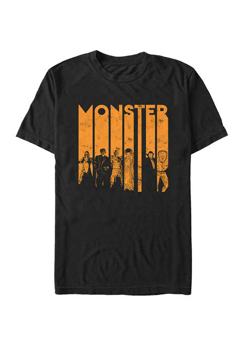 Monster Letters Graphic T-Shirt