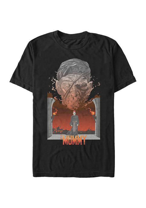 Mummy Illustrated Poster Graphic T-Shirt