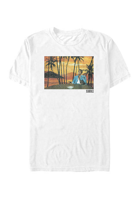 Sunset Backdrop Graphic T-Shirt