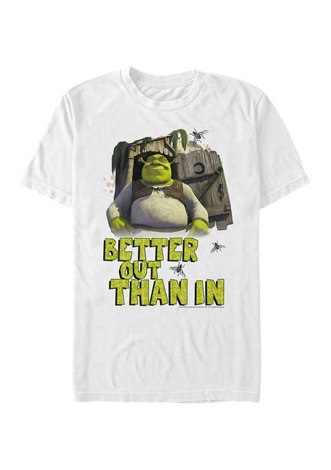 Shrek Better Out Graphic T-Shirt