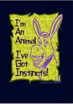 Animal Instincts Graphic Hoodie