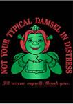 Not A Damsel Graphic T-Shirt