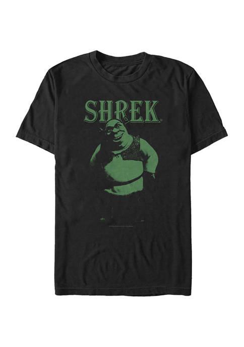 Stylized Shrek Graphic T-Shirt