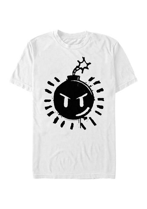 Sex Bob-omb Logo Graphic T-Shirt