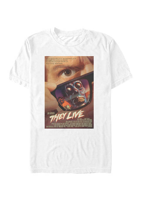 Fifth Sun™ They Live Poster Graphic T-Shirt