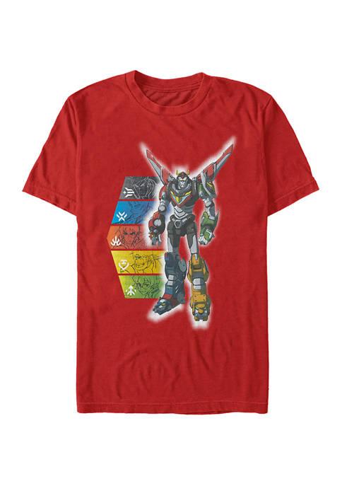 Robot Panels Graphic T-Shirt