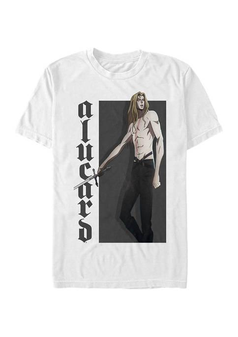 Castlevania Hero Alucard Short Sleeve Graphic T-Shirt