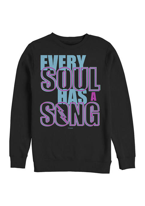 Soul Song Crew Fleece Graphic Sweatshirt