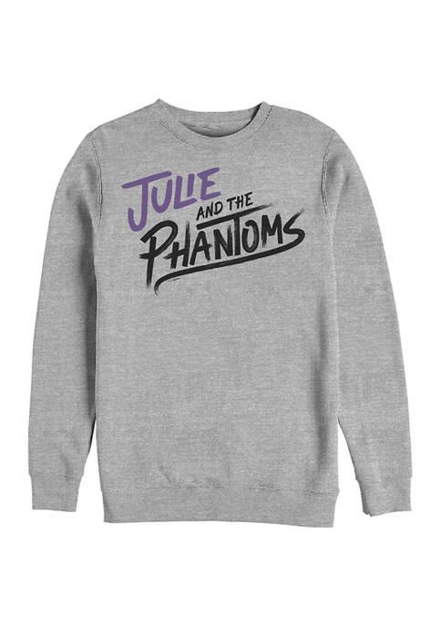 Stacked Logo Crew Fleece Graphic Sweatshirt