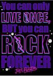 Rock Forever Fleece Graphic Hoodie