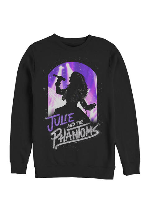 Julie Solo Crew Fleece Graphic Sweatshirt