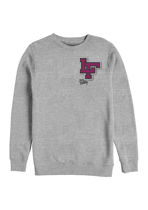 Varsity Pocket Crew Fleece Graphic Sweatshirt