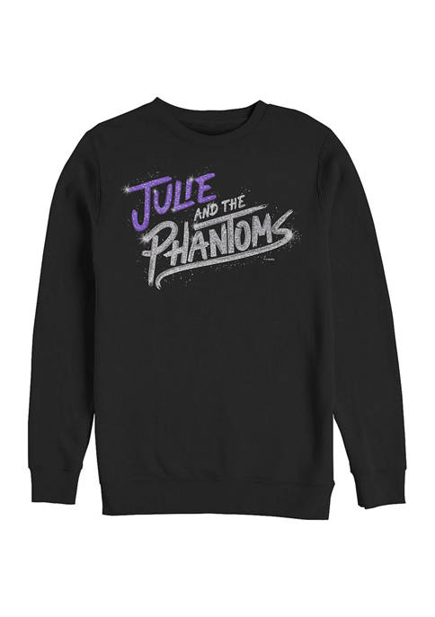 Julie and the Phantoms Bling Logo Crew Fleece