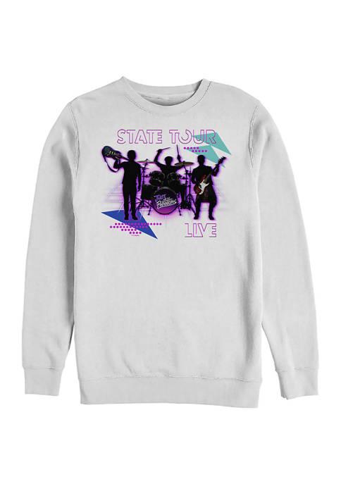 State Tour Crew Fleece Graphic Sweatshirt