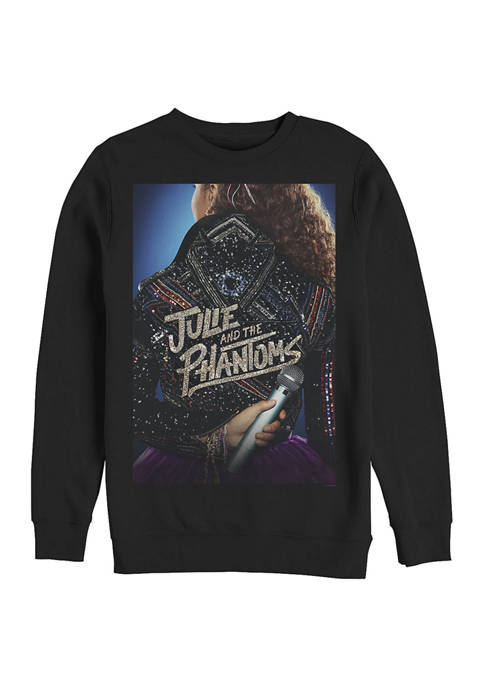 Julie and the Phantoms Mic Crew Fleece Graphic
