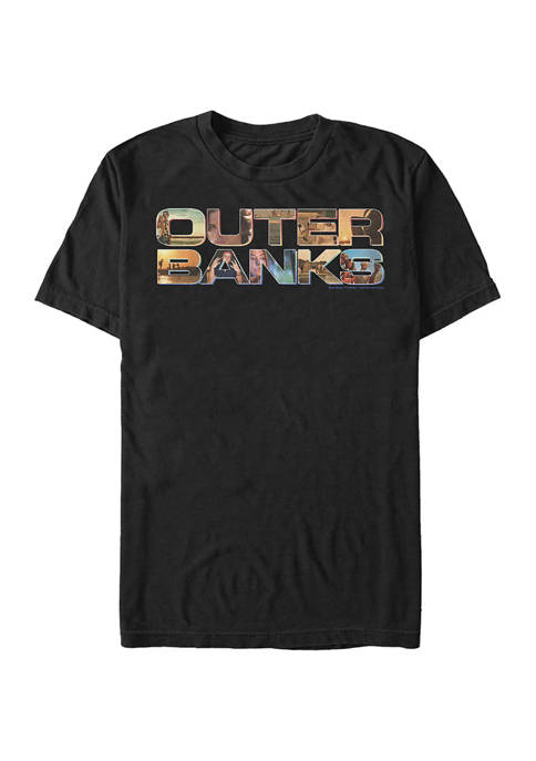 Outer Banks Juniors OBX Photo Logo Graphic T-Shirt