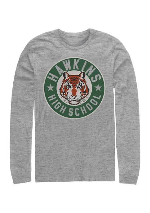 Stranger Things Hawkins High Tiger Emblem Long Sleeve
