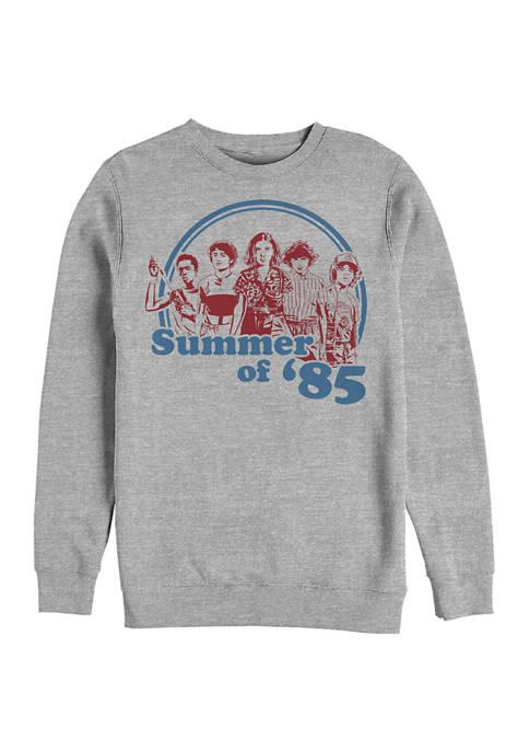 Summer of 85 Crew Graphic Fleece Sweatshirt