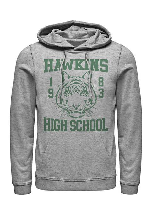 Hawkins High Tiger 1983 Graphic Fleece Hoodie