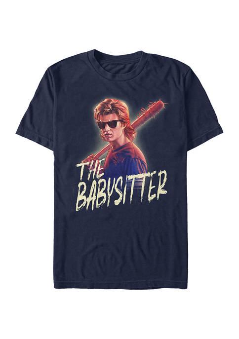 Steve The Babysitter Short Sleeve Graphic T-Shirt