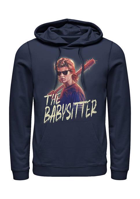 Steve The Babysitter Fleece Graphic Hoodie