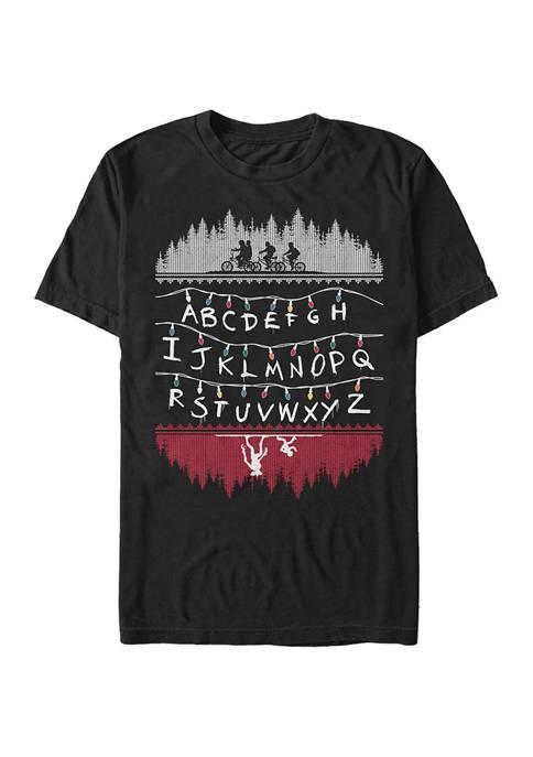 Alphabet Lights Short Sleeve Graphic T-Shirt