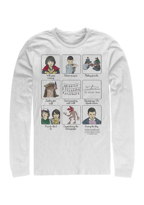 Story Long Sleeve Crew Graphic T-Shirt