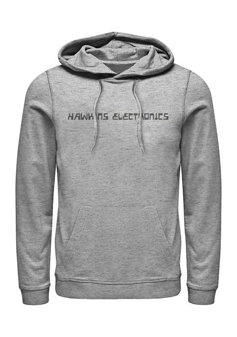 Hawkins Electronics Fleece Graphic Hoodie