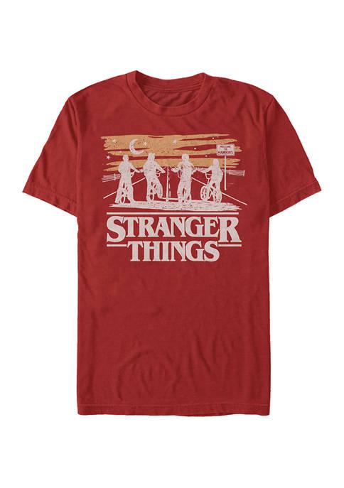 Jank Drawing Short Sleeve Graphic T-Shirt