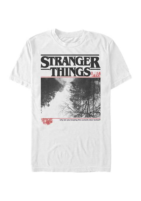 Stranger Things Upside Photo Short Sleeve Graphic T-Shirt