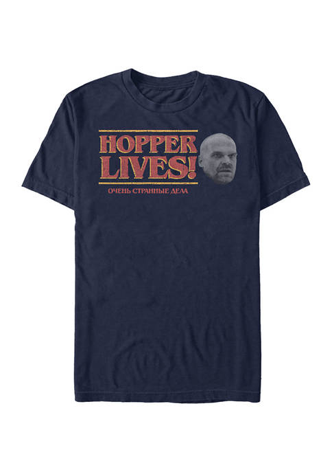 Hopper Lives Short Sleeve Graphic T-Shirt